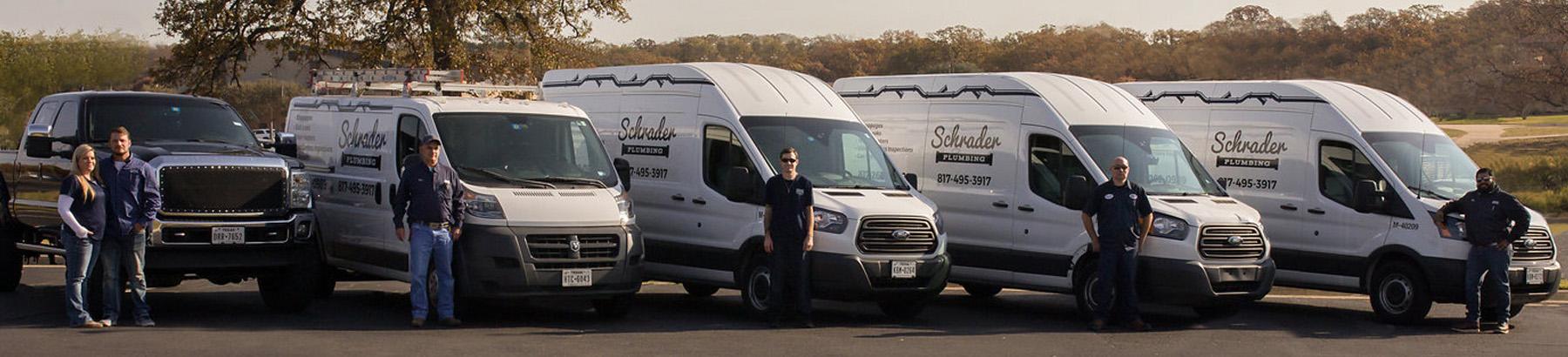 Schrader Plumbing now hiring plumbers in Tarrant County