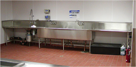 Commercial Restaurant Sink and Faucet plumbers ft worth